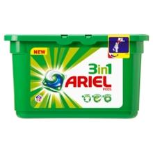 Капсулы для стирки Ariel Pods White 3 in 1, 12 шт