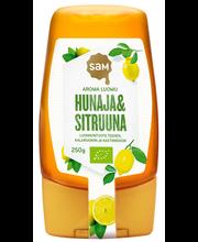 Мёд с лимоном Sam aroma luomu Hunaja&Sitruuna 250гр
