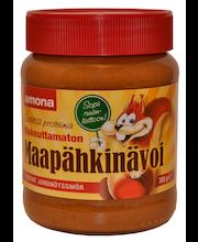 Арахисовая паста Amona maapähkinävoi несладкая 350гр