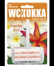 Освежитель для унитаза цветы WC Kukka 3in1