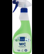 Средство для чистки туалета отбеливающее Kiilto Spray valkoapila 500 мл