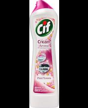 Чистящее средство Cif cream розовые цветы 500мл