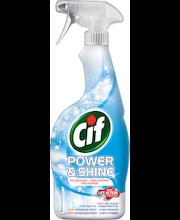 Средство для мытья окон и зеркал Cif  Power & Shine  750 мл