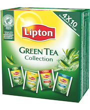 Зеленый чай Lipton Green Tea Collection 40 пак.