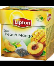 Черный  чай Lipton Peach Mango(персик,манго) в пирамидках 20шт