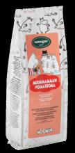 Черный листовой чай Nordqvist Moomin (клубника,ревень)80гр.