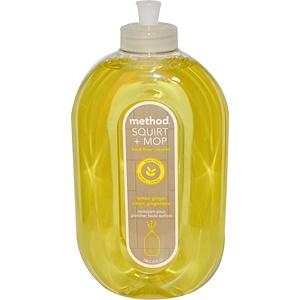 Нетоксичное средство для очистки твердых поверхностей лимон-имбирь Method 740мл