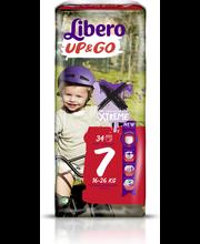 Подгузники-трусики Libero Up&Go 7, 16-26кг 34шт.
