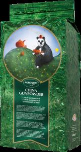 Зеленый листовой китайский чай (без добавок) Nordqvist China Gunpowder 1кг