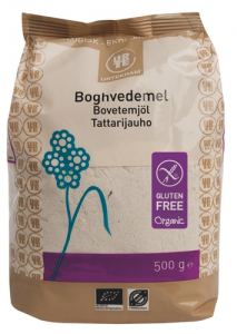 Органическая гречневая мука без глютена Urtekram tattarijauho luomu 500гр