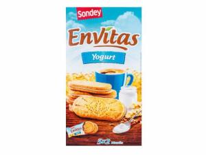 Печенье с йогуртовой прослойкой Sondey Envitas 253гр