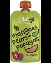 Органическое пюре груша-манго-папайя Ella's Kitchen с 4мес. 120гр