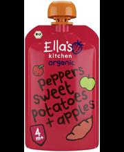 Органическое пюре картофель-красный перец-яблоко Ella's Kitchen с 4мес. 120гр