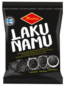 Лакричные конфеты Halva Lakunamu 140гр