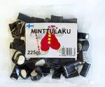 Лакричные конфеты Tivoli Minttulaku c мятной начинкой 225гр
