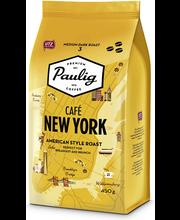 Кофе в зернах (крепость 3) Paulig Café New York 450гр