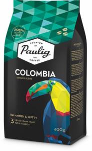 Кофе в зернах (крепость 3) Paulig Presidentti Colombia 400гр