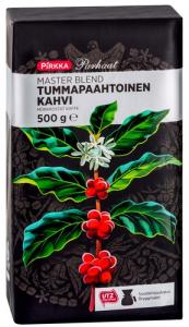 Кофе молотый тёмной обжарки Pirkka Parhaat Master Blend Tumma kahvi 500гр