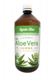 Органический сок алое вера для улучшения пищеварения Hyvan Olon Aloe Vera Juoma 1л