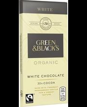 Органический белый шоколад Green & Black's 30% 90гр