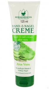 Крем для рук с алое вера Herbamedicus Hand&Nail Cream Aloe Vera 125мл