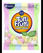 Жевательные конфеты фруктовые, зефирные, без глютена Fazer Tutti Frutti Chewy Fruits 150гр