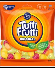 Жевательные конфеты фруктовые, без глютена Fazer Tutti Frutti Original Natural 350гр