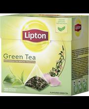 Зеленый чай Lipton Индонезийский с лепестками роз в пирамидках 20шт.
