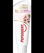 Зубная паста (гвоздика, можжевельник) Pepsodent Long Active Natural Elements Clove Sensitive 75мл