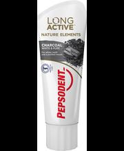 Зубная паста (уголь) Pepsodent Long Active Natural Elements Charcoal 75мл
