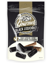 Безглютеновые лакричные конфеты Fini Gourmet Black 180гр