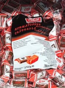 Конфеты Коровка (клубника) Pokoj Krowka Strawberry 1кг