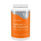 Кальций 500мг+ D3 10мг, жевательные таблетки (апельсин) YA KALSIUM  100таб.