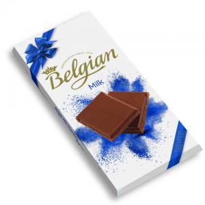 Молочный шоколад Belgian 100гр
