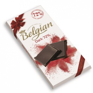 Шоколад темный Belgian 72% 100гр