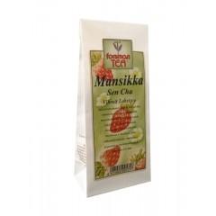Зеленый листовой чай  Сенча с клубникой Forsman Mansikka SenCha 60гр