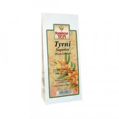 Черный листовой чай с облепихой (15%) Forsman Tyrnitee Musta 60гр