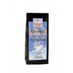 Черный листовой чай с мятой и черникой Forsman Revontuli tee 60гр