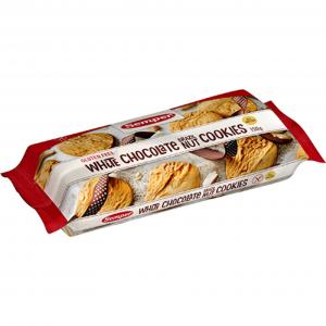 Печенье без глютена (белый шоколад) Semper Cookie Valkosuklaa 150гр