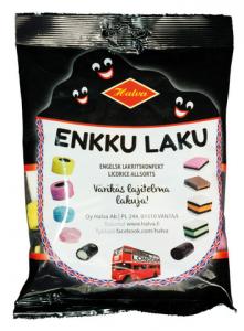 Ассорти лакричных конфет Halva Enkku Laku 240гр