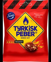 Очень острая лакричная карамель FAZER Tyrkisk Peber Megahot 120гр