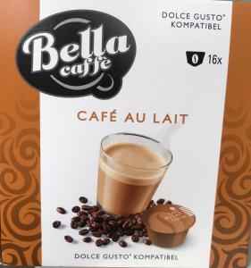Кофе в капсулах Bella caffe Cafe au lait 16шт.