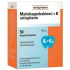 Комплекс молочнокислых бактерий для взрослых + витамины группы В  Ratiopharm 50шт.