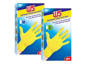 Одноразовые перчатки W5 50шт.