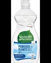 Органическое средство для мытья посуды, гипоаллергенное Seventh Generation Free & Clear 500мл