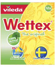 Ткань для уборки Wettex Classic sieniliina 10шт.