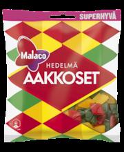 Ассорти фруктовых жевательных конфет Malaco Aakkoset  Hedelmä 315гр
