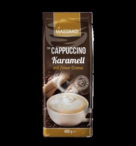 "Капучино ""Карамель""  Massimo Cappuccino Karamell 400гр"