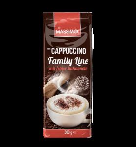 Капучино с шоколадом Massimo Cappuccino Family line 500гр