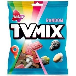 Ассорти фруктовых и лакричных жевательных конфет Malaco TV Mix Random 325гр